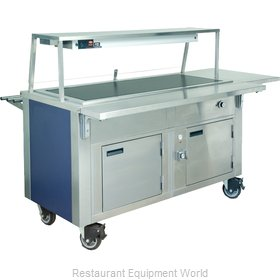 Dinex DXDHT6HIB Serving Counter Hot Food Steam Table Electric