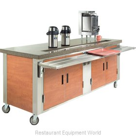 Dinex DXDUS4 Serving Counter, Beverage