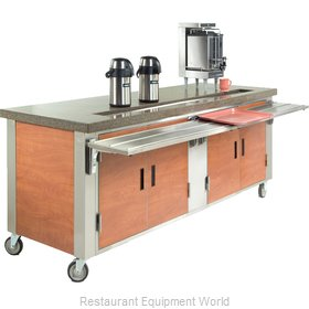 Dinex DXDUS5 Serving Counter, Beverage