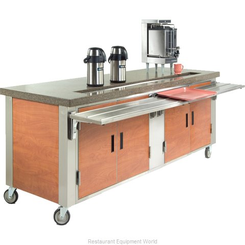 Dinex DXDUS6 Serving Counter, Beverage