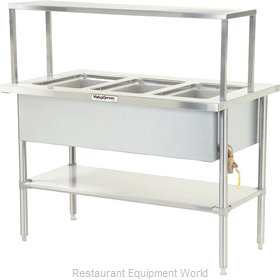 Dinex DXDVLHF2 Serving Counter Hot Food Steam Table Electric