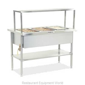 Dinex DXDVLHF2SL Serving Counter, Hot Food, Electric