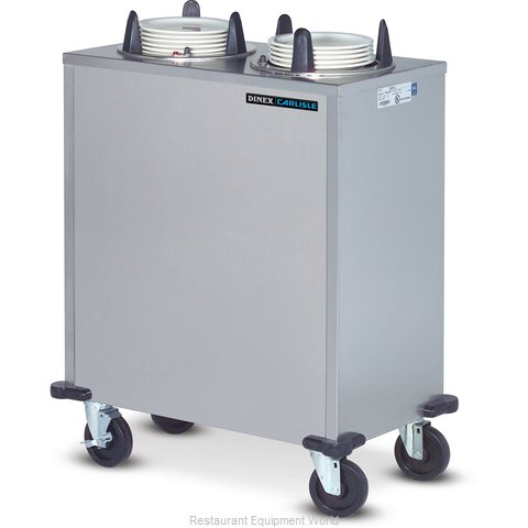 Dinex DXIDPH2E0912 Dispenser, Plate Dish, Mobile