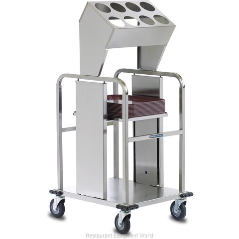 Dinex DXIDTS2S1418 Flatware & Tray Cart