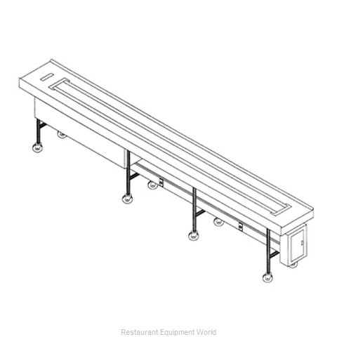 Dinex DXIESB10 Conveyor, Tray Make-Up (Magnified)