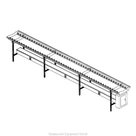 Dinex DXIESR12 Conveyor Tray Make-Up (Magnified)