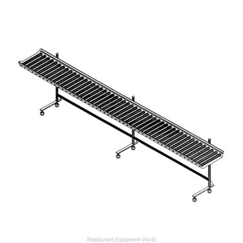 Dinex DXIESRC7 Conveyor Tray Make-Up (Magnified)