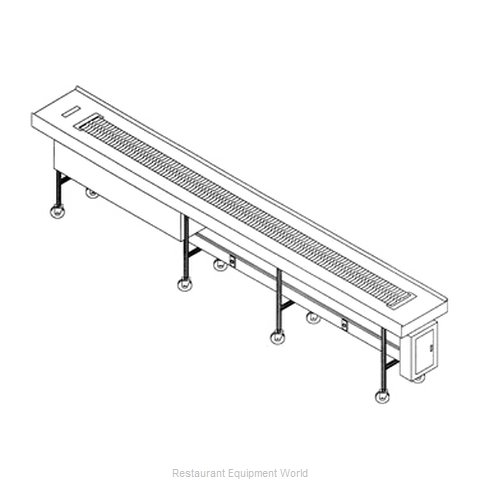 Dinex DXIESSB10 Conveyor Tray Make-Up