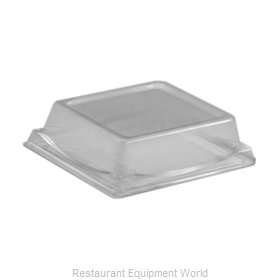 Dinex DXL5104PDCLR Disposable Container Cover / Lid