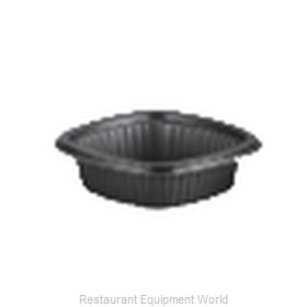 Dinex DXMW512PBLK Disposable Take Out Container