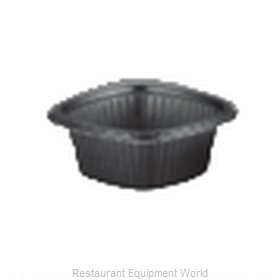 Dinex DXMW516PBLK Disposable Take Out Container