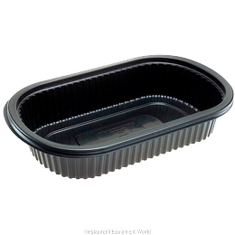 Dinex DXMW810PBLK Disposable Take Out Container