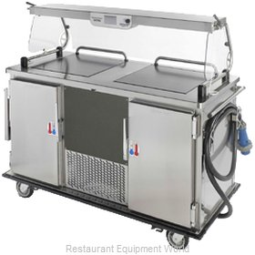 Dinex DXPSUCR Serving Counter, Hot & Cold