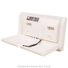 Diaper Depot 2304 Horizontal Changing Table - White