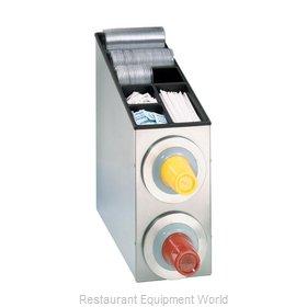 Dispense-Rite BFL-L-2SS Cup Dispensers, Countertop