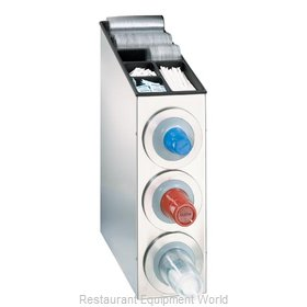 Dispense-Rite BFL-L-3SS Cup Dispensers, Countertop