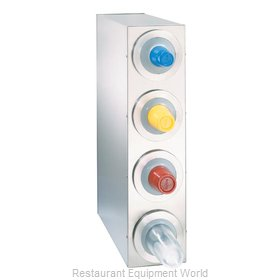 Dispense-Rite BFL-R-4SS Cup Dispensers, Countertop