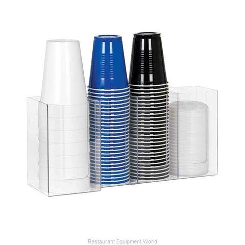 Dispense-Rite CTHL-4 Lid Dispenser, Countertop