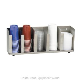 Dispense-Rite CTLD-22 Lid Dispenser, Countertop