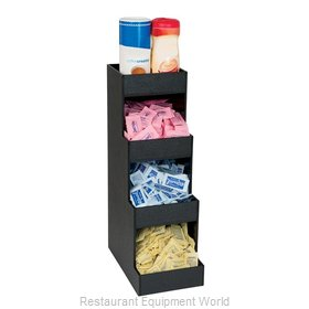 Dispense-Rite CTVH-4BT Condiment Caddy, Countertop Organizer