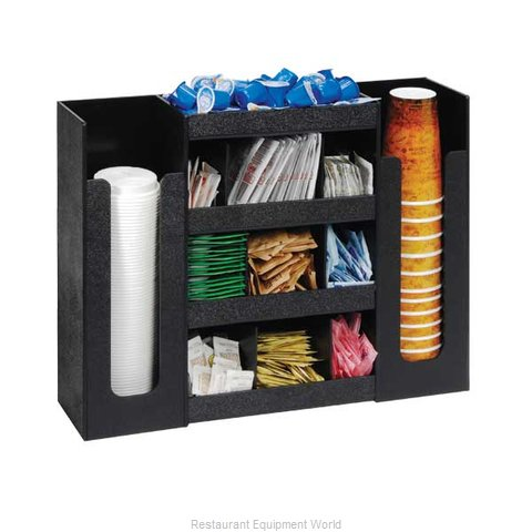 Dispense-Rite DLCO-5BT Condiment Caddy, Countertop Organizer