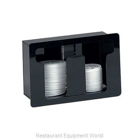 Dispense-Rite FML-2 Lid Dispenser, In-Counter