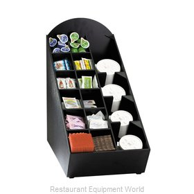 Dispense-Rite NLO-WVL Condiment Caddy, Countertop Organizer