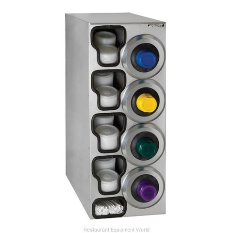Dispense-Rite SLR-C-4RSS Cup Dispensers, Countertop