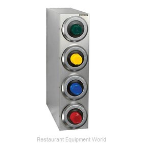 Dispense-Rite SLR-R-4SS Cup Dispensers, Countertop