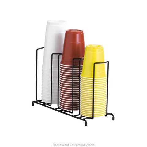 Dispense-Rite WR-3 Lid/Cup Organizer (Magnified)