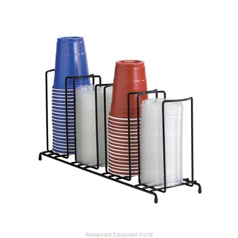 Dispense-Rite WR-4 Lid/Cup Organizer (Magnified)