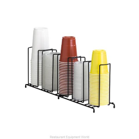 Dispense-Rite WR-5 Cup & Lid Organizer (Magnified)