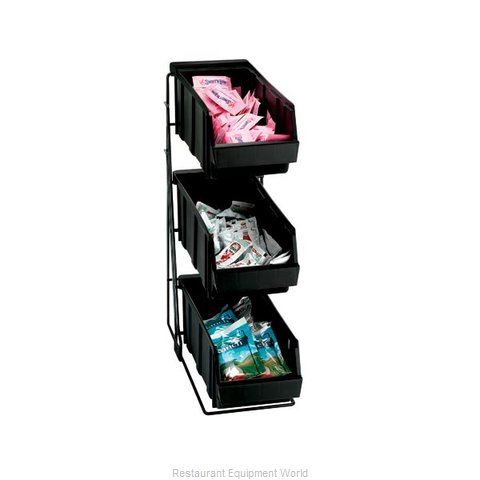 Dispense-Rite WR-COND-3 Condiment Organizer Bin Rack