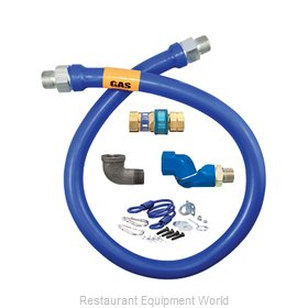 Dormont 16100BPQSR48 Gas Connector Hose Assembly