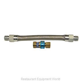 Dormont 16100BQ72 Gas Connector Hose Assembly
