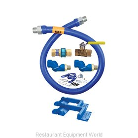 Dormont 16100KIT2S72PS Gas Connector Hose Kit