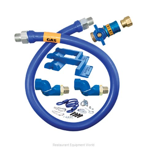 Dormont 16100KITCF2S48PS Gas Connector Hose Kit (Magnified)