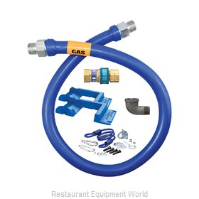 Dormont 16125BPQR48PS Gas Connector Hose Assembly