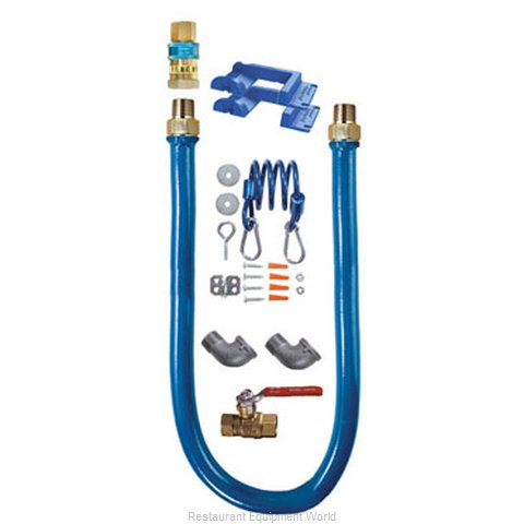 Dormont 1650KIT24PS Safety System Moveable Gas Connector