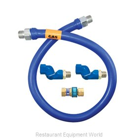 Dormont 1675BPQ2S72 Gas Connector Hose Assembly