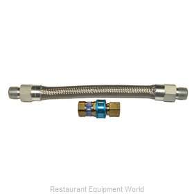 Dormont 1675BQ48 Gas Connector Hose Assembly