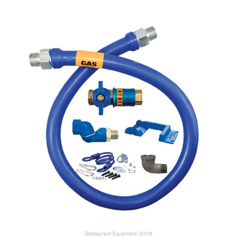 Dormont 1675KITCFS48PS Gas Connector Hose Kit (Magnified)