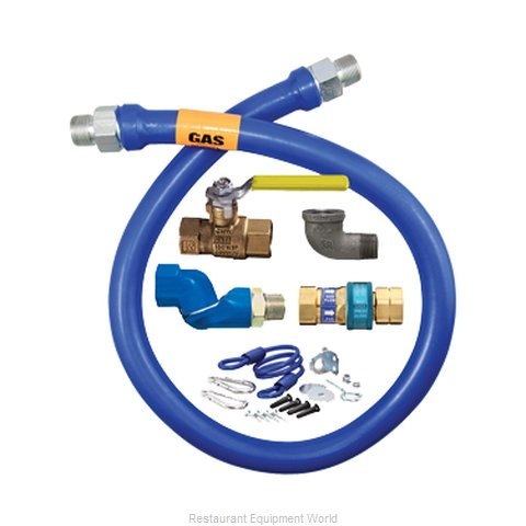 Dormont 1675KITS72 Gas Connector Hose Kit (Magnified)