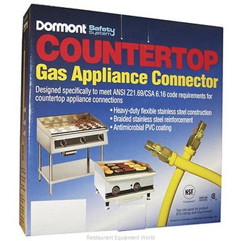 Dormont CT1650KIT36 Countertop Gas Connector (Magnified)