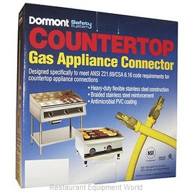 Dormont CT1650KIT36 Countertop Gas Connector