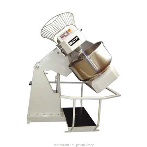 Doyon AB150XB Mixer Dough Spiral Heavy Duty (Magnified)