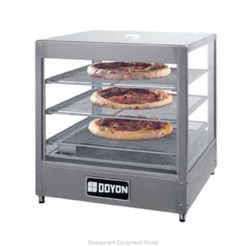 Doyon DRP3 Display Case, Hot Food, Countertop