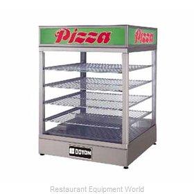 Doyon DRP4 Display Case, Hot Food, Countertop