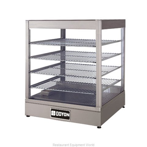 Doyon DRP4S Display Case, Hot Food, Countertop