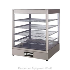 Doyon DRP4S Display Case, Hot Food, Countertop